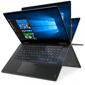 Laptop Lenovo Notebook  Yoga 710-15IKB 2-IN-1 80V5000XCF i5-7200U 8GB 256GB SSD  15.6