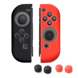 Nintendo Switch Joy-Con Black And Red  (L/R)
