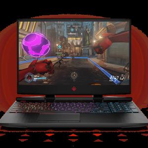 Laptop HP OMEN Notebook  15-DC158WM I7 -9750H 16 GB 256 GB SSD 15.6 inch  144HZ GTX 1660TI WIN 10