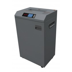 INVO Paper Shredder Central Office And Commercial Use INV‐X25CA3 25sheetsA 4/ 15sheetsA 3 4x30mm 310mm 3 M/min 55DB 24hour s 80 Liter 520x385x895