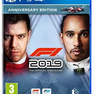 PS4 Play Station 4 Game F1 Formula 1 2019 Anniversary edition