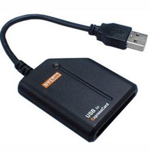 STLab U-450 USB 2.0 to ExpressCard Adapter
