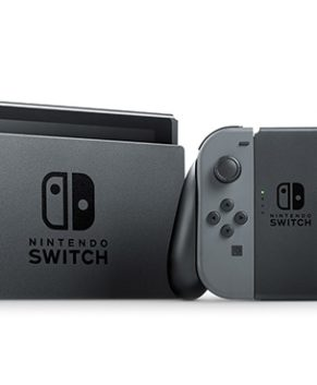 Gaming Console Nintendo Switch with Gray Joy‑Con - HAC-001(-01)