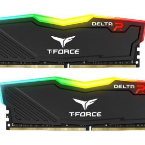 Desktop Ram Team T-Force Delta RGB Series 16GB (4x4GB) DDR4-3000 RGB Black