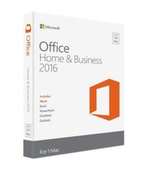 Microsoft Office for Mac W6F-00862 Off Mac Home Business 1PK 2016