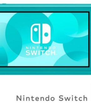 Nintendo Switch Lite + 1 game