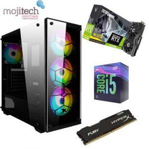 Gaming Desktop Offer : CPU Intel 9400F / B360m Asrock MotherBoard / SSD 240GB / 16 GB RAM 2666Hz Hyperx / Zotac 2070 Super Graphic Card  / 650W Aerocool PSU  / Case Venom  RGB