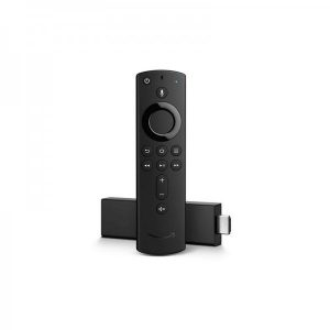 Fire TV Stick 4K Streaming Media Player With Alexa Voice Remote  3 Months Warranty