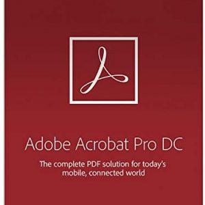 Adobe Acrobat Pro DC CC EDU Win/Mac for 12 months L1