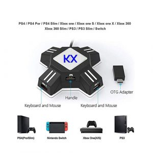 KX Keyboard Mouse Controller Adapter Converter