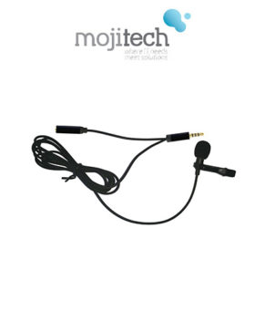 Lavalier Microphone for Hands Free Audio Recording iOS and Android Smartphone - M301