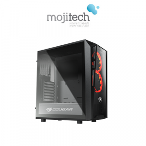 COUGAR TURRET Compact Gaming Case RED