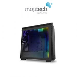 NZXT H710i Premium ATX Mid-Tower Matte Black with Lighting and Fan Control