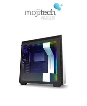 NZXT H710i Premium ATX Mid-Tower Matte White with Lighting and Fan Control