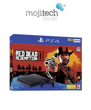PLAYSTATION 4 500GB RED DEAD Redemption II EDITION